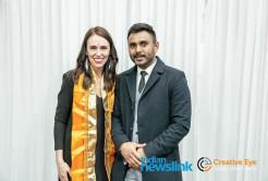 Prime Minister of New Zealand receives Bhagavad-Gita