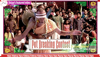 VIDEO - Jhulan Yatra Festival with Lord Balarama's Pot Breaking Contest