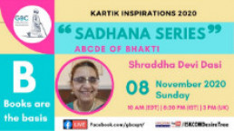 """ABCDE of Bhakti-""""B""""-Books are the basis with Shraddha Devi"""