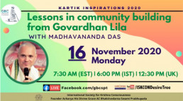 Lessons in Community Building from Govardhan Lila with Madhavananda Das