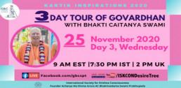 Day 3-Govardhan Parikrama with Bhakti Caitanya Swami