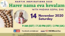 "ABCDE of Bhakti-""C""-Harer Nama Eva Kevalam with Madana Gopal Das"