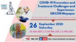 COVID-19 prevention and treatment-Challenges and Experiences-ISKCON Mayapur