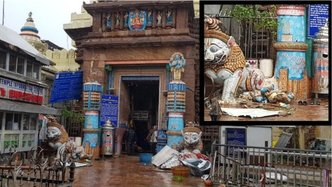 Sacred Sites Damaged, But No Devotees Reported Injured in Puri Cyclone