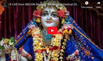 VIDEO - ISKCON Mayapur Radhastami Festival 2019