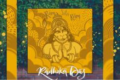 Radhika Das Spreads Joy and Devotion with Diwali Single Ram Sita Ram