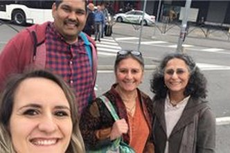 Radhadesh Team Attends Child Protection Training in Italy