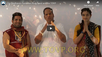 The Madhava's Sankirtan Rock Band and the TOVP