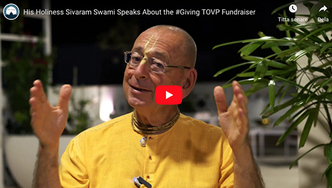 His Holiness Sivaram Swami Speaks About the #Giving TOVP Fundraiser