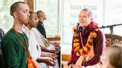 "Sacinandana Swami Brings Experiential ""Living Name"" Retreat to New Vrindaban"