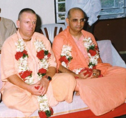 Disappearance day of our most beloved HH Sridhar Swami