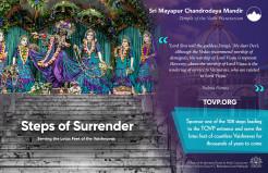 TOVP Steps of Surrender Campaign