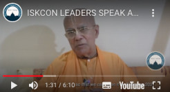 ISKCON & TOVP Leaders Speak About the #GivingTOVP & TOVP Care 10 Day Matching Fundraiser