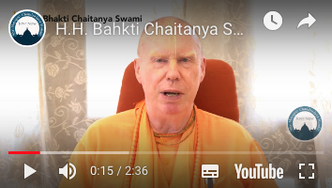 His Holiness Bhakti Chaitanya Maharaja Speaks About the #Giving TOVP Worldwide Matching Fundraiser