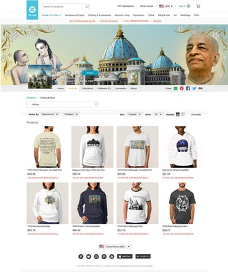 TOVP Online Gift Store Grand Opening on Gaura Purnima 2019
