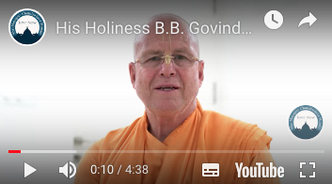 His Holiness B.B. Govinda Maharaja Speaks About the #Giving TOVP Worldwide Fundraiser