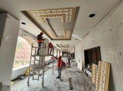 Further Progress of Pujari Floor Ceiling Panels