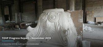 TOVP Progress Report – November 2019