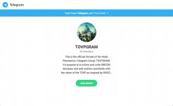 TOVP Launches Telegram App Chat Group, TOVPGRAM