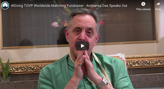 The TOVP #Giving TOVP 10 Day Worldwide Matching Fundraiser