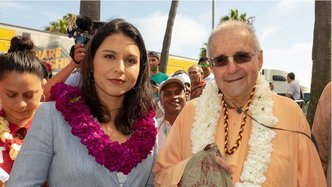 Presidential Candidate Tulsi Gabbard Speaks at L.A. Rathayatra