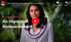 VIDEO - Tulsi Gabbard Suspends Her Presidential Campaign