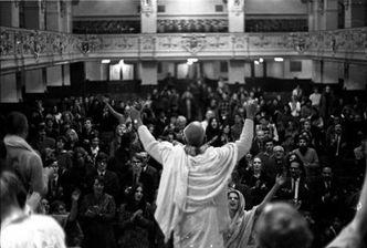 50 years after Srila Prabhupada returns to Conway Hall (11 min. video)