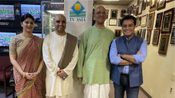 New Jersey Devotees Appear on TV Asia to Over 1.5 Million Viewers