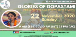 Glories of Gopastami with Nitaisevini Devi