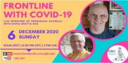 Frontline with COVID-19 with Krsnadasa Kaviraja Das