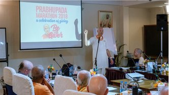 "GBC Discusses the ""Solid Ground"" of ISKCON's Preaching"