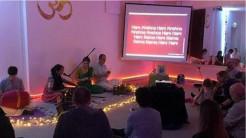 Yoga Shala North Wales, UK, Welcomes ISKCON Monks to Rhuddlan