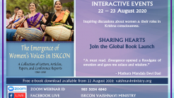 """New Book """"The Emergence of Women's Voices in ISKCON"""" to Launch with Online Event"""