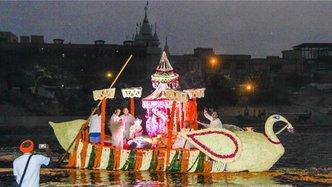 Yamuna Boat Festival Captures Sweetness of Vrindavan