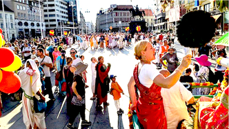 Zagreb, Croatia: National Media Covers the Bliss of Ratha Yatra